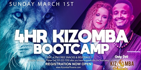 First 4 Hr Kizomba Bootcamp of 2020 tickets