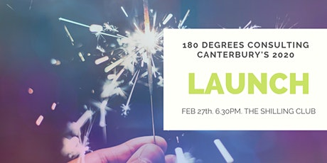 LAUNCH NIGHT: 180 Degrees Consulting Canterbury tickets