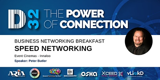 District32 Business Speed Networking - Fri 13th Mar