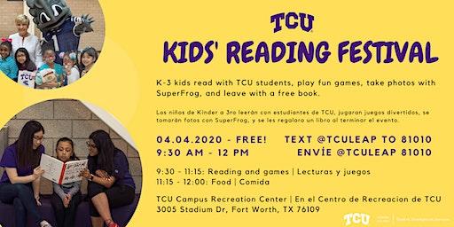 TCU KIDS' READING FESTIVAL