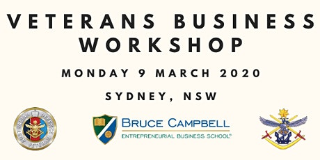 Veterans Business Workshop Sydney tickets