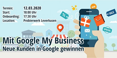 Google My Business Workshop für Unternehmer Tickets