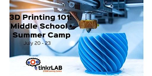 3D Printing 101 • 9am - 12pm
