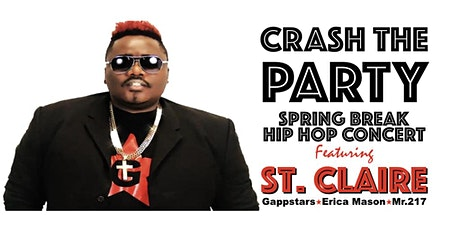 Crash The Party (Spring Break Hip Hop Concert) tickets