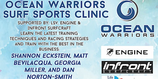 Ocean Warriors  Surf Sports Clinic - Jan Juc SLSC