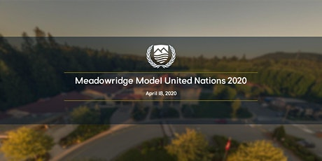 Meadowridge Model United Nations 2020 tickets