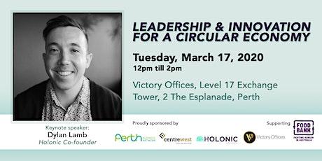 Leadership & Innovation For A Circular Economy tickets