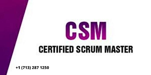 CSM Certification Training in Al-Khobar,Saudi Arabia