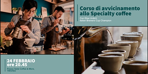 Corso di avvicinamento allo Specialty Coffee