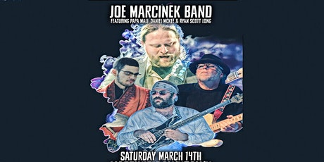 Joe Marcinek Band Featuring Papa Mali Live at Martin's Downtown tickets