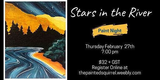 Stars in the River Paint Night
