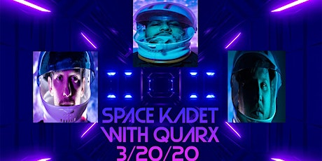 Space Kadet with Quarx Live at Martin's Downtown tickets