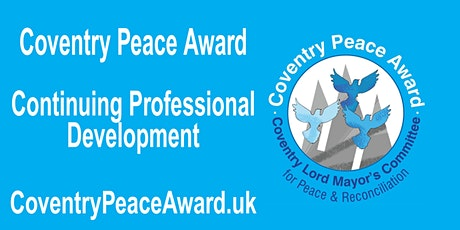 CPD on Coventry City Centre Peace Trail tickets