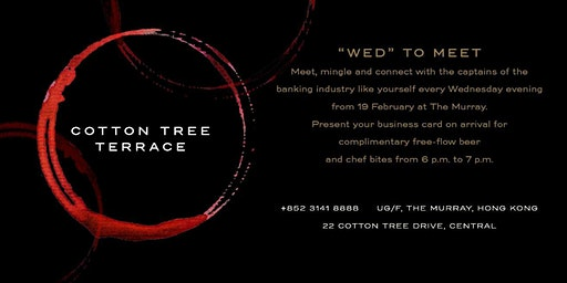 Banking Industry Night - Every Wednesday at Cotton Tree Terrace!