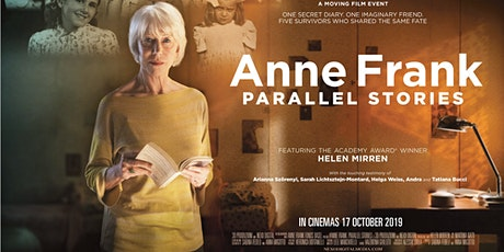 Anne Frank: Parallel Stories - Adelaide Premiere - Thur 19th March tickets