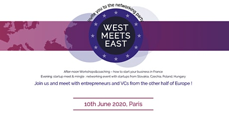 West meets East - EU startups meet & mingle #VivaTech2020 tickets
