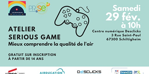 Atelier Serious Game - Mieux comprendre la pollution de l'air