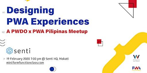 MiniFFC #58: Designing PWA Experiences (A PWDO x PWA Pilipinas Meetup)