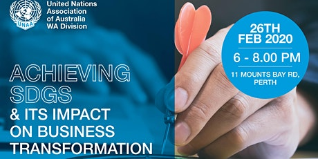Achieving SDGs & its Impact on Business Transformation tickets