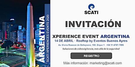 SCATI Xperience Event Argentina, 14 de abril entradas