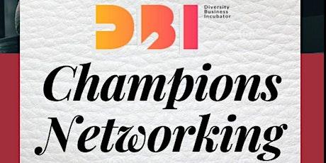 DBI Champions Networking tickets