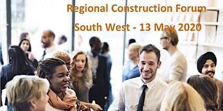 Regional Construction Forum - South West tickets