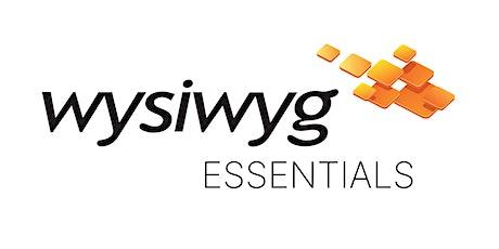 wysiwyg Essentials - Getting Started tickets