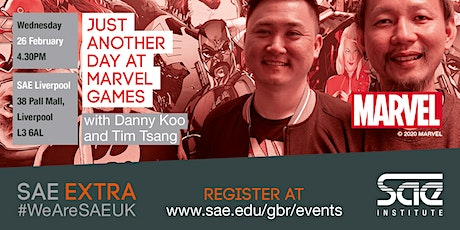 SAE Extra (LIV): Just another day at Marvel Games tickets
