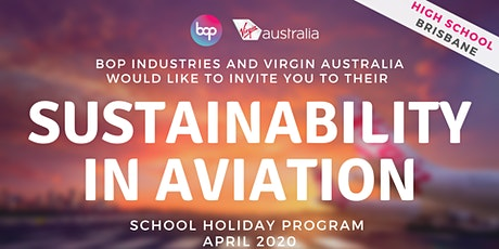 Sustainability In Aviation School Holiday Program With Virgin Australia tickets