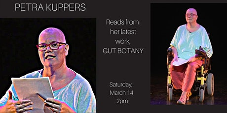 Storyteller Series:  Petra Kuppers reads from 'Gut Botany' tickets