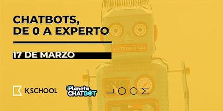 Chatbots: De cero a experto entradas