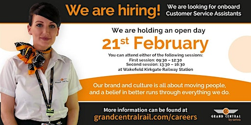Customer Service Assistant Recruitment Day