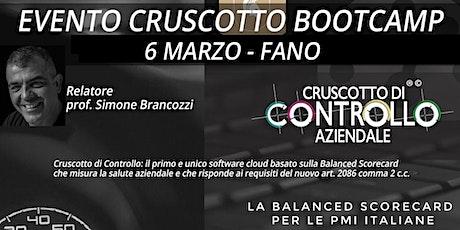 BOOTCAMP CRUSCOTTO DI CONTROLLO, Fano, 6 marzo biglietti