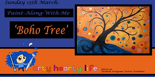 'Boho Tree' Paint-Along-With-Me @ YourSpace.Sutton