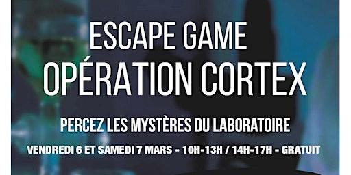 "Escape game ""Opération Cortex"""