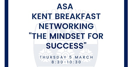 ASA Kent Breakfast Networking tickets