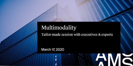 Supply Chain Series: multimodality tickets