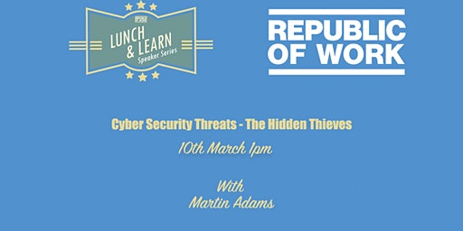 Cyber Security Threats - The Hidden Thieves