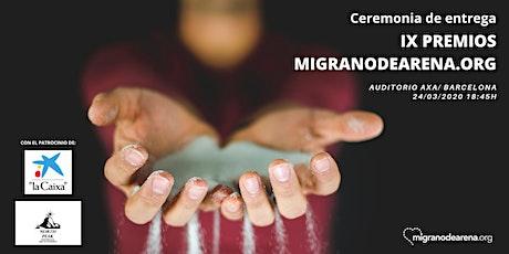 IX Premis migranodearena.org entradas