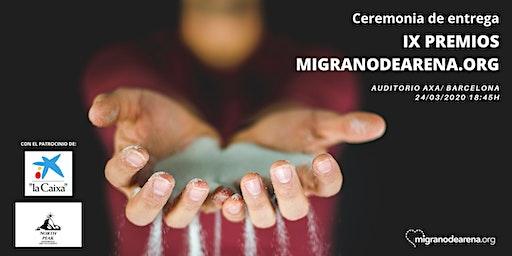 IX Premis migranodearena.org