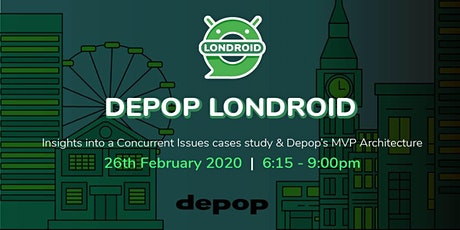 depop Londroid tickets
