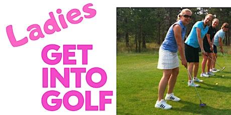 Ladies get Into Golf tickets