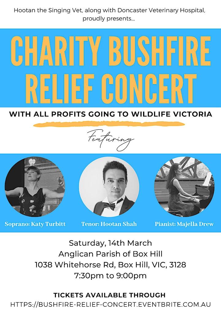 Wildlife Victoria Bushfire Relief Charity Concert image