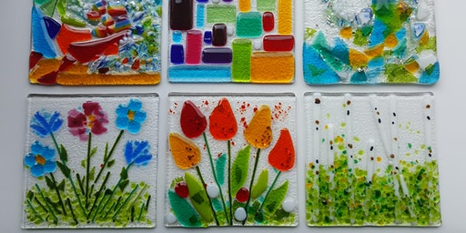 Fused Glass Art Workshop at Trevince