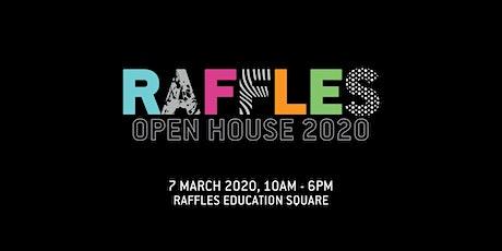 Raffles Design Institute Singapore Open House March 2020 tickets
