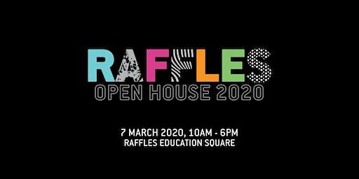 Raffles Design Institute Singapore Open House March 2020