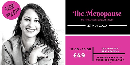 The Menopause: The Myths, The Legends, The Truth