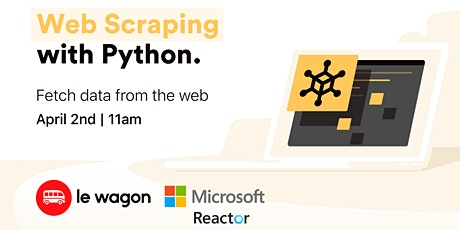 Python Web Scraping for beginners tickets