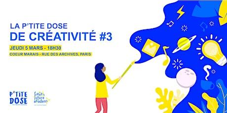 Design Thinking - La p'tite dose de créativité #3 billets
