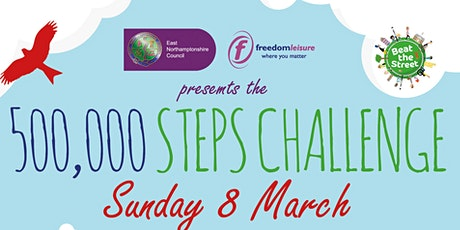 ENC Active Communities 500,000 Steps Challenge for Sport Relief tickets